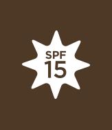 Protección SPF 15