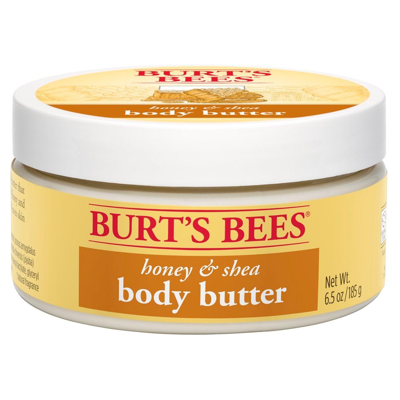 Mantequilla corporal de miel y karité