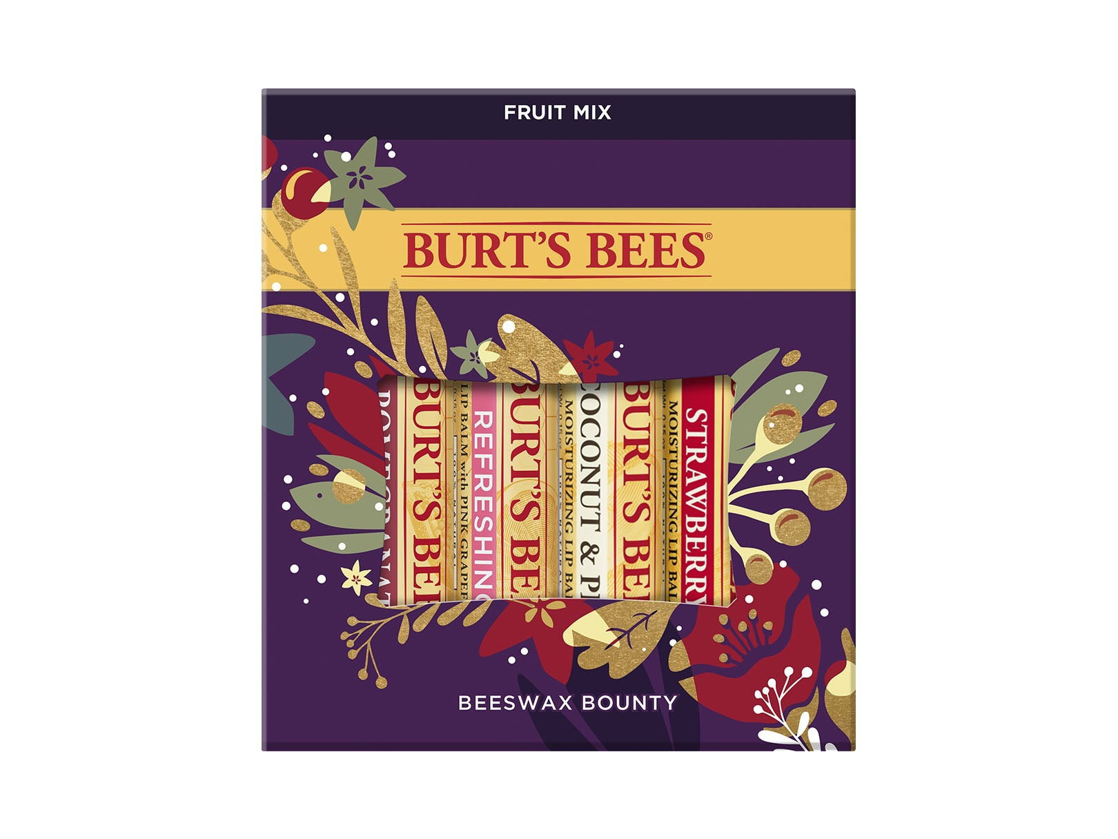 Burt's Bees Beeswax Bounty Fruit Mix  Gift